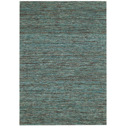 Bodo 157 Duck Egg Green Multi Coloured Patterned Modern Rug - Rugs Of Beauty - 1