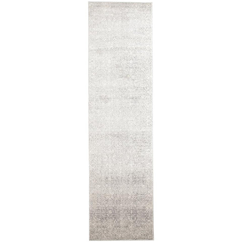 Palermo Transitional Silver Grey Designer Runner Rug - Rugs Of Beauty - 1
