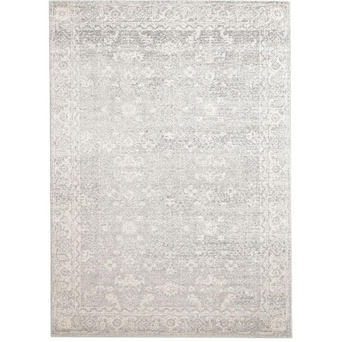 Palermo Transitional Silver Grey Designer Rug - Rugs Of Beauty - 1