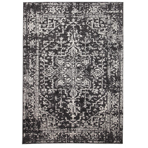 Provo Transitional Charcoal Designer Rug - Rugs Of Beauty - 1