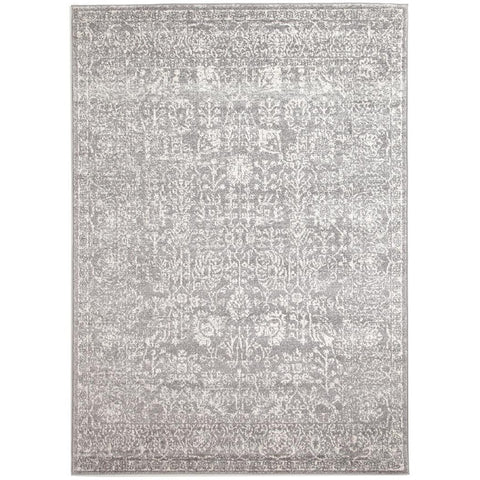Zion Grey Transitional Patterned Designer Rug - Rugs Of Beauty - 1