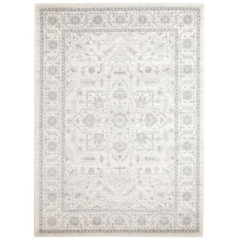 Reynes Transitional Beige Light Grey Designer Rug - Rugs Of Beauty - 1
