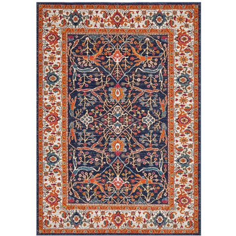 Orbit Multi Coloured Transitional Designer Rug - Rugs Of Beauty - 1