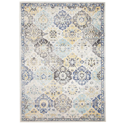 Minsk Multi Colour Transitional Patterned Designer Rug - Rugs Of Beauty - 1