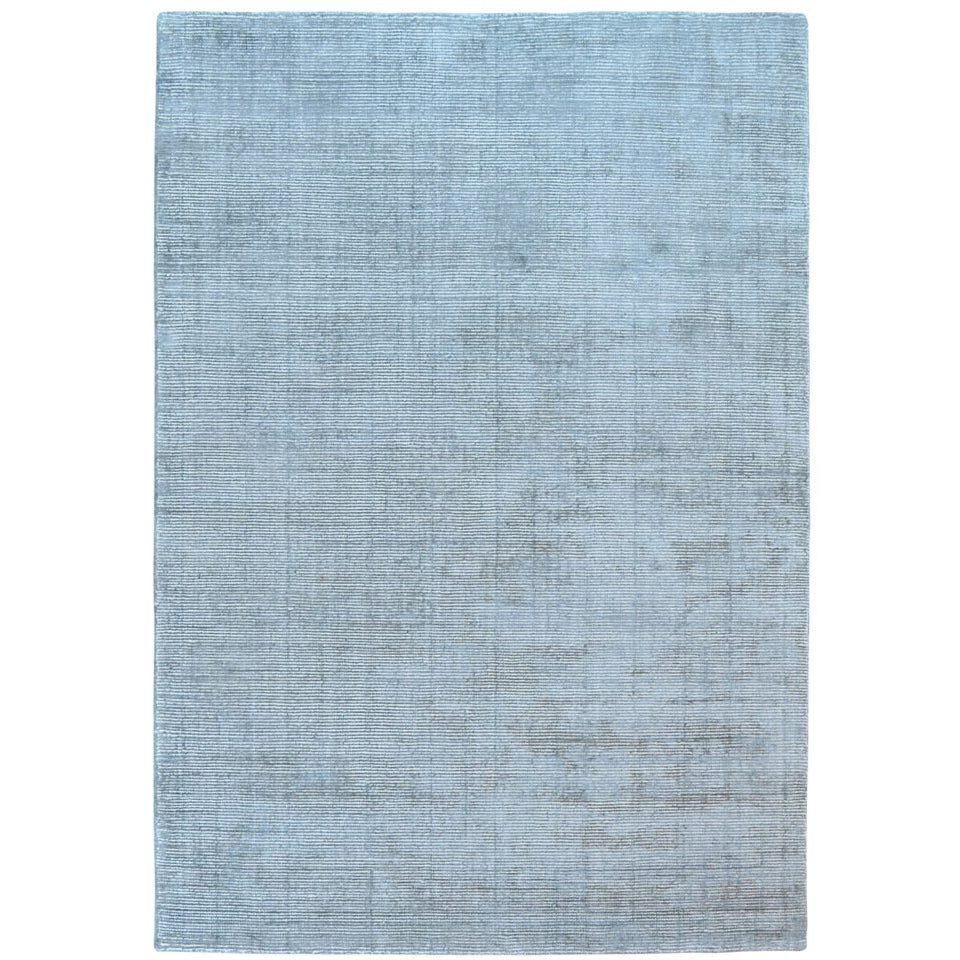 159096ad8c Baltia Grey Flatweave Hand Knotted Wool Rug - Rugs Of Beauty