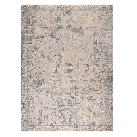 Taunton 2477 Bone Grey Transitional Textured Rug - Rugs Of Beauty - 1