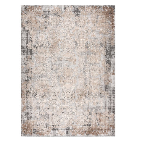 Taunton 2478 Bone Grey Transitional Textured Rug - Rugs Of Beauty - 1