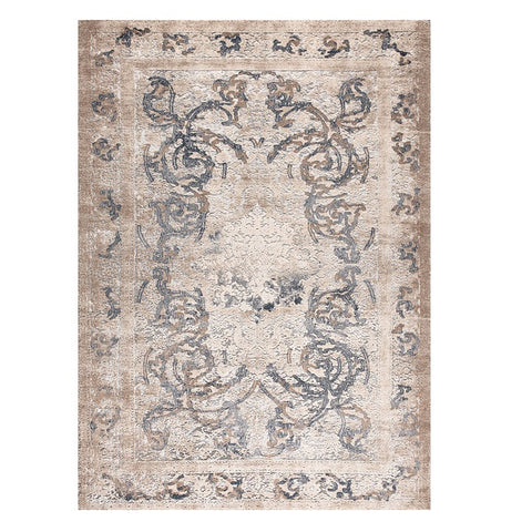 Taunton 2479 Bone Grey Transitional Textured Rug - Rugs Of Beauty - 1