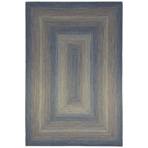 Patagonia Copper Indoor Outdoor Patterned Flatweave Rug - Rugs Of Beauty