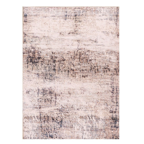 Bedford 255 Peach Grey Transitional Abstract Patterned Rug - Rugs Of Beauty - 1