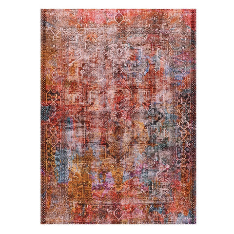 Bedford 255 Multi Coloured Transitional Abstract Patterned Rug - Rugs Of Beauty - 1