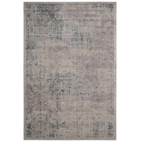 Ayotha Grey and Beige Patterned Rug - Rugs Of Beauty