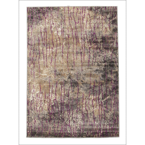 Sina Forest Modern Rug Aubergine - Rugs Of Beauty - 1