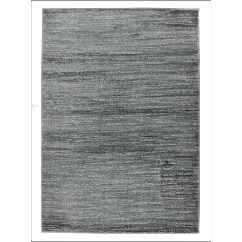 Pandora Contemporary Stripe Rug Blue Grey - Rugs Of Beauty - 1