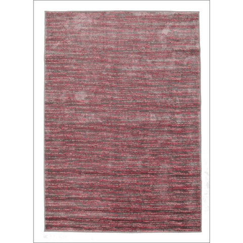 Pandora Contemporary Stripe Rug Pink Grey - Rugs Of Beauty - 1