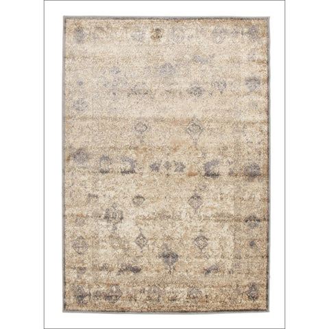 Aisha Vintage Ziegler Flatweave Rug Grey - Rugs Of Beauty - 1