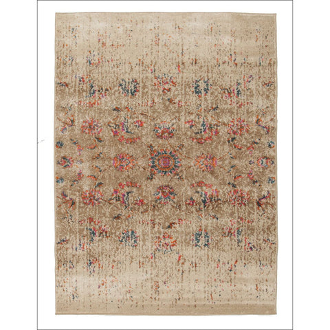 Abbie Vintage Tabriz Modern Rug Multi - Rugs Of Beauty - 1