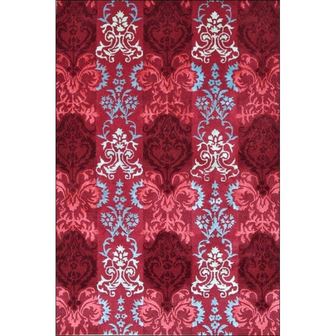 Handmade Red Traditional Patterned Wool Rug - 1067 - Rugs Of Beauty