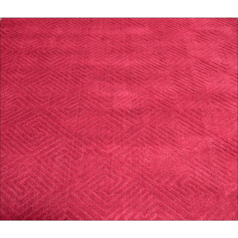 Hand Made Red Comfortable Wool Rug - Elite 1009 - Rugs Of Beauty
