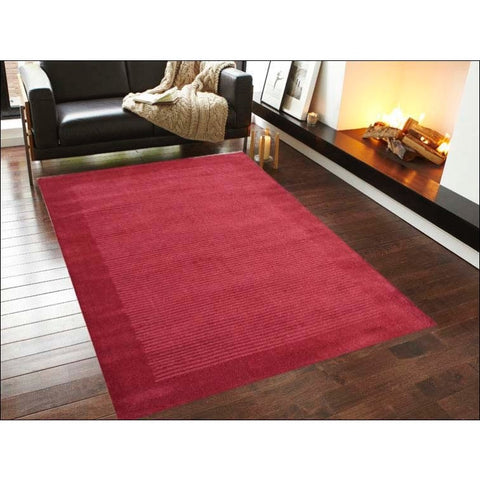 Handmade Contemporary Red Wool Rug - Elite 1041 - Rugs Of Beauty