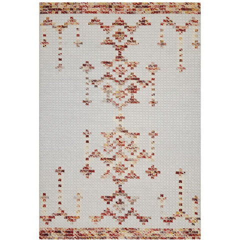 Vasteras 1253 Multi Coloured Scandinavian Wool Rug - Rugs Of Beauty - 1