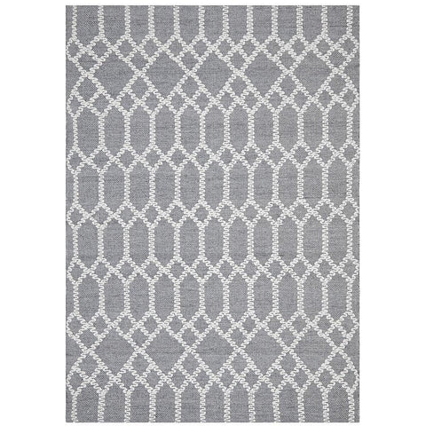 Vasteras 1255 Blue Scandinavian Rug - Rugs Of Beauty - 1