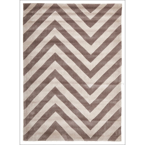 Chevron Beige Rug - Rugs Of Beauty - 1