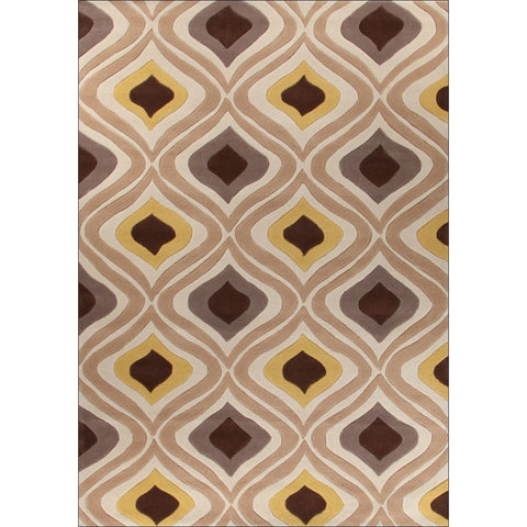 Stunning Oil Lamp Yellow Rug - Rugs Of Beauty