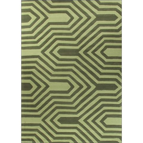 Circuit Board Green Rug - Rugs Of Beauty
