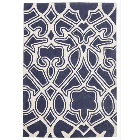 Gothic Tribal Design Rug Slate - Rugs Of Beauty