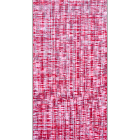 Handwoven Cotton Durrie Rug - Galleria-Pink/Ivory - Rugs Of Beauty