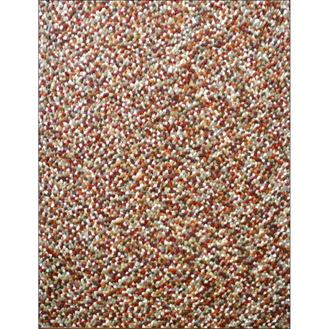 Handwoven cosy wool Rug - Jelly Bean - Autumn - Rugs Of Beauty