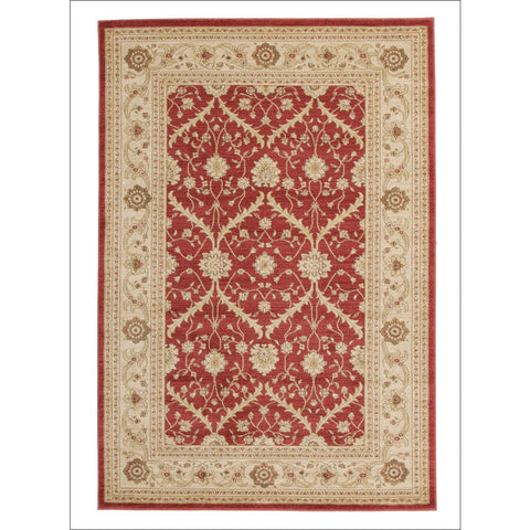 Chobi Transitional Design Rug Red Bone - Rugs Of Beauty - 1