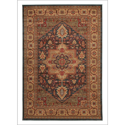 Antique Heriz Transitional Design Rug Multi - Rugs Of Beauty - 1