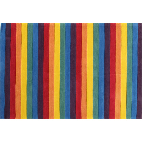 Beautiful Striped Rainbow Kids Rugs - Rugs Of Beauty