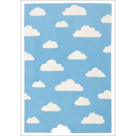 Dreamy Clouds Rug Blue - Rugs Of Beauty