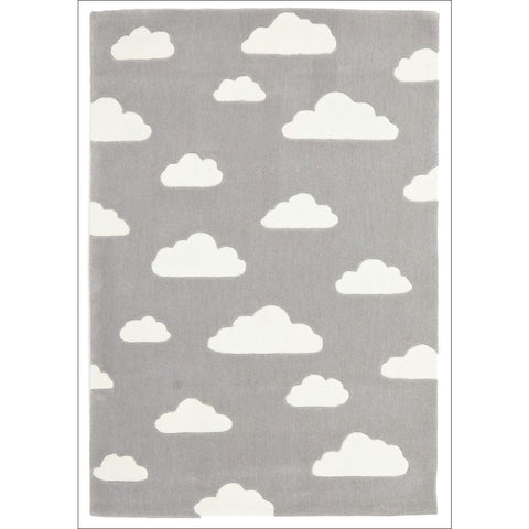 Dreamy Clouds Rug Grey - Rugs Of Beauty
