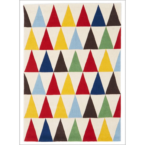 Bunting Multi Coloured Rug - Rugs Of Beauty