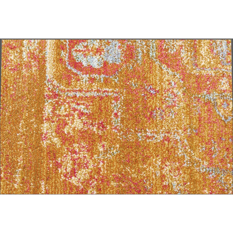Overdyed Classic Style Rug Gold - Rugs Of Beauty