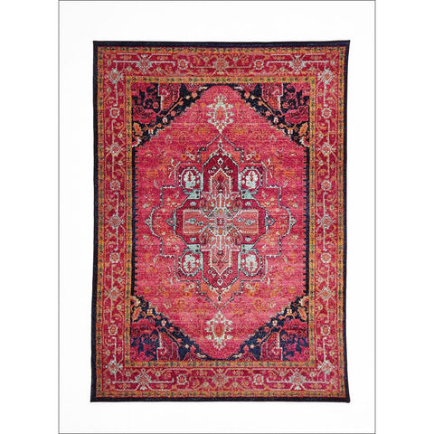 Overdyed Classic Style Rug Pink - Rugs Of Beauty