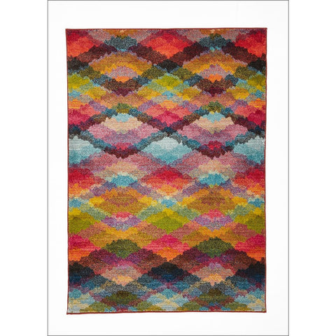 Stunning Pallete Design Rug Multi - Rugs Of Beauty