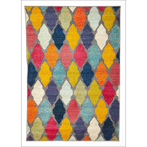 Trellis Modern Pallete Rug Multi - Rugs Of Beauty