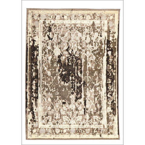 Stylish Overdyed Look Rug Grey - Rugs Of Beauty