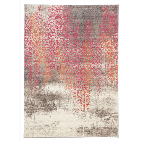 Stunning Monet Inspired Pink Rug - Rugs Of Beauty - 1