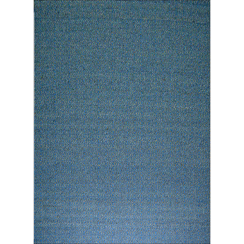 Handwoven Woollen Durrie Rug - Avila - Blue/Natural - Rugs Of Beauty