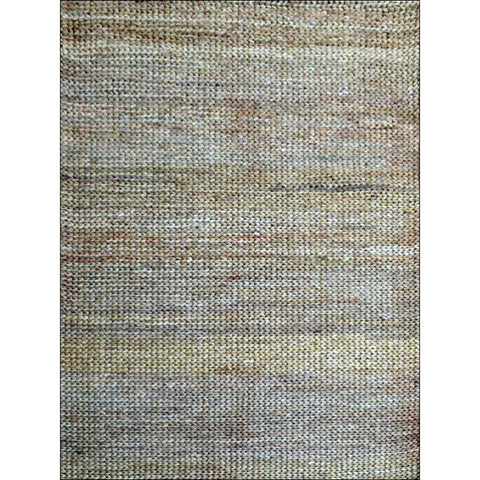 Natural Handmade Jute Rug-Kerla 1002- Natural - Rugs Of Beauty - 1