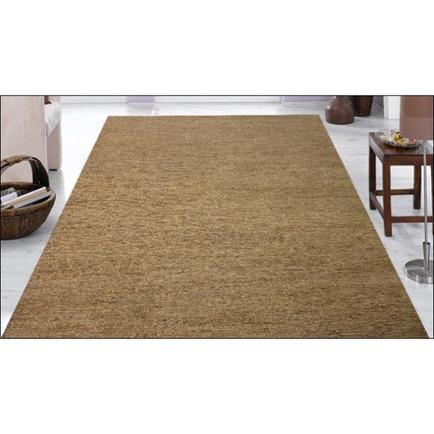 Natural Handmade Jute Rug-Kerla 1005- Natural - Rugs Of Beauty