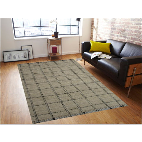 Natural Fibre Jute Rug-1007-Natural - Rugs Of Beauty