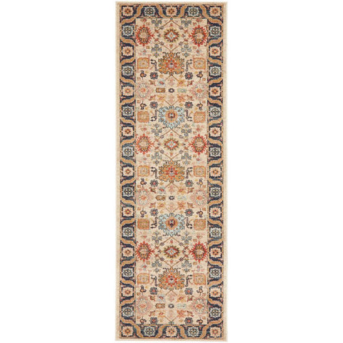 Tivoli 2783 Sand Multi Colour Transitional Runner Rug - Rugs Of Beauty - 1