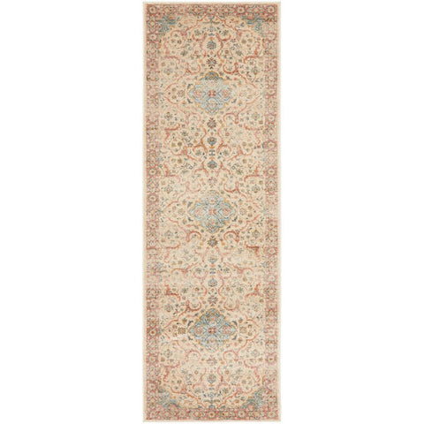 Tivoli 2784 Earth Multi Colour Transitional Runner Rug - Rugs Of Beauty - 1